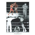 Brian London signed genuine autographed boxing photo COAM584