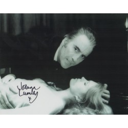 Joanna Lumley Horror genuine signed authentic signature photo