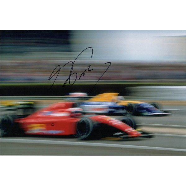 Alain Prost F1 Ferrari genuine authentic signed autograph photo 4