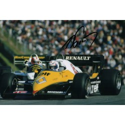 Alain Prost F1 Renault genuine authentic signed autograph photo 5