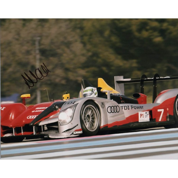 Allan McNish Le Mans genuine authentic signed autograph photo
