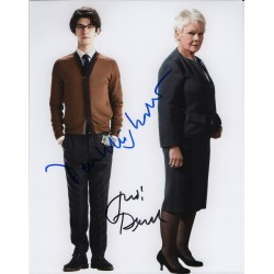 Ben Wishaw Judi Dench James Bond genuine authentic signed autograph photo 2