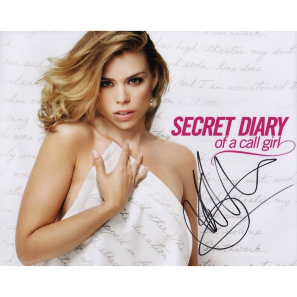 Billie Piper Diary of a Call Girl genuine authentic signed autograph photo