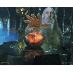 Christopher Lee Lord of the Rings Saruman genuine authentic autograph signed photo 3.