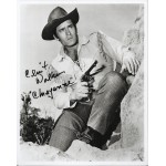 Clint Walker Cheyenne genuine authentic autograph signed photo. RD