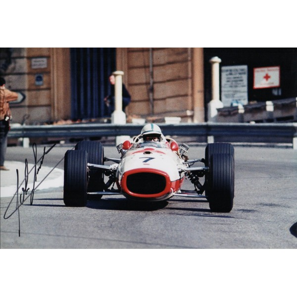 John Surtees F1 Honda genuine authentic signed autograph photo 6