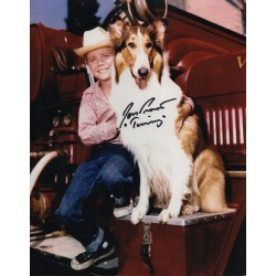 Jon Provost Lassie genuine signed original genuine autograph authentic photo