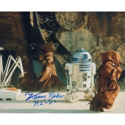 Kenny Baker Star Wars genuine authentic signed autograph photo 5