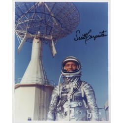 Scott Carpenter Mercury genuine authentic autograph signed photo 5.