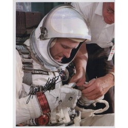 Tom Stafford space Gemini Apollo genuine authentic autograph signed photo 3.