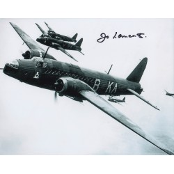 WW2 bomber and test pilot Jo Lancaster authentic signed autograph photo 4