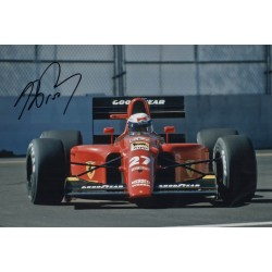 Alain Prost F1 Ferrari genuine authentic autograph signed photo 5