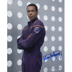Anthony Momtgomery  Enterprise genuine signed authentic autograph photo