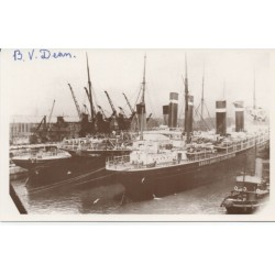 B V Dean Titanic Survivor genuine authentic signed autograph image