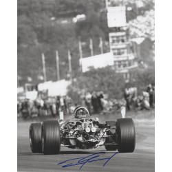 Dan Gurney Eagle F1 genuine authentic signed autograph image