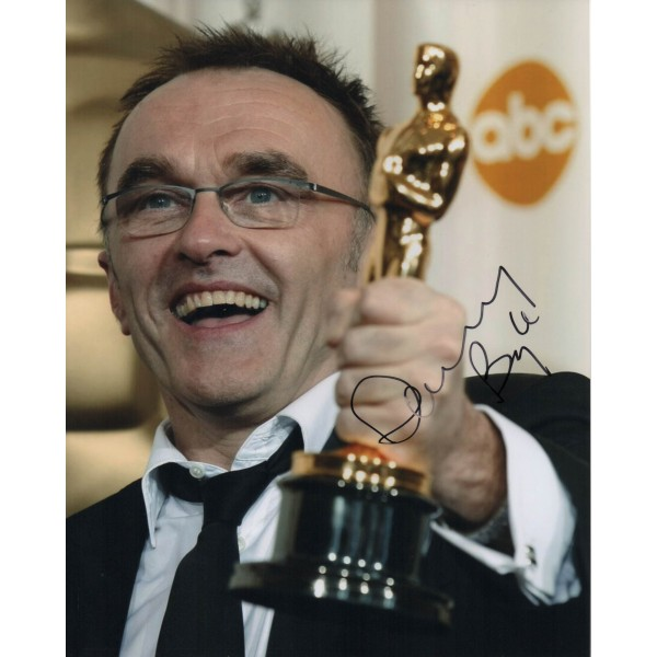 Danny Boyle genuine authentic signed autograph photo