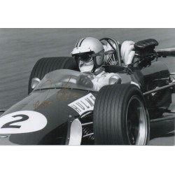Denny Hulme Brabham F1 genuine authentic signed autograph photo