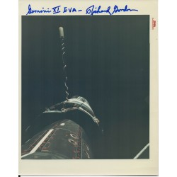 Dick Gordon Apollo 12 genuine authentic signed autograph NASA photo