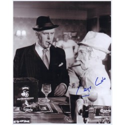 George Cole Minder genuine authentic signed autograph photo