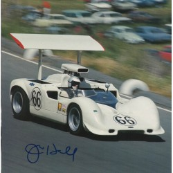 Jim Hall Chaparral genuine authentic signed autograph image