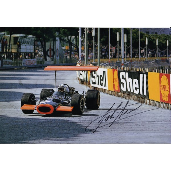 John Surtees BRM F1 genuine authentic signed autograph photo