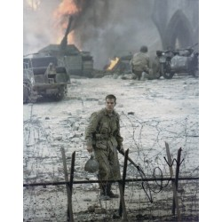 Matt Damon Saving Private Ryan authentic signed autograph photo