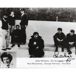 Pete Best Beatles genuine authentic signed autograph photo 4