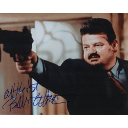 Robbie Coltrane James Bond genuine authentic signed autograph photo