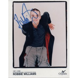 Robbie Williams music genuine authentic signed autograph photo 2
