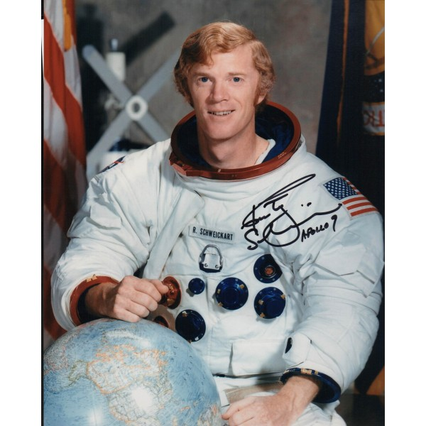 Rusty Schweickart Apollo 9 authentic signed autograph photo 3