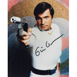 SOLD Gil Gerard signed genuine authentic autograph Buck Rogers 2 photo