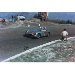 Stirling Moss Mercedes Mille Miglia genuine authentic signed autograph photo