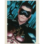 Chris O'Donnell Batman Robin genuine authentic autograph signed photo