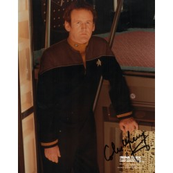 Colm Meaney Star Trek DS9 genuine authentic autograph signed photo