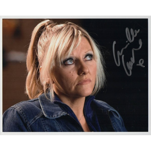 Doctor Who Camille Corduri  genuine authentic autograph signed photo