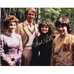 Doctor Who Sarah Sutton Mathew Waterhouse genuine authentic autograph signed photo