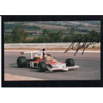 Emerson Fittipaldi Mclaren F1 genuine authentic autograph signed photo 2