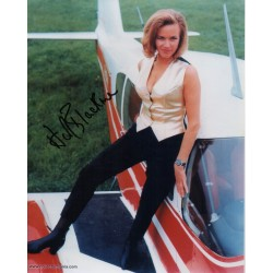 Honor Blackman James Bond genuine authentic autograph signed photo
