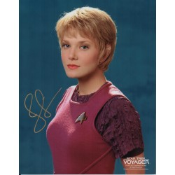Jennifer Lien Star Trek Voyager genuine authentic autograph signed photo