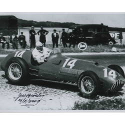 José Froilán González Ferrari genuine authentic autograph signed photo