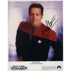 Robert Beltran Star Trek Voyager genuine authentic autograph signed photo 2