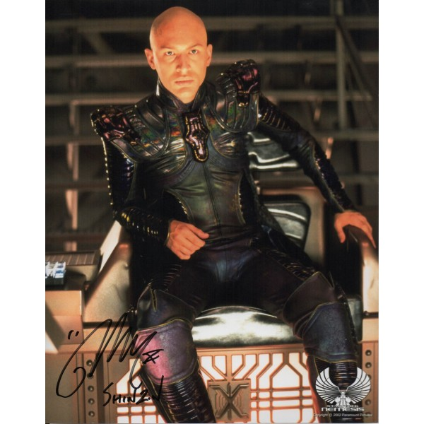 Tom Hardy Star Trek Nemesis genuine authentic autograph signed photo