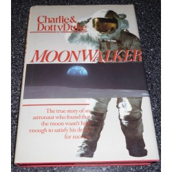 Charlie Duke Apollo 16 genuine authentic autograph signed book