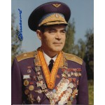 Cosmonaut Andrian Nikolayev genuine signed autograph photo
