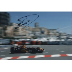 David Coulthard F1 Red Bull genuine signed authentic autograph photo