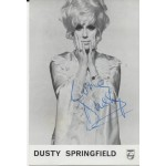 Dusty Springfield music genuine signed authentic autograph photo 2