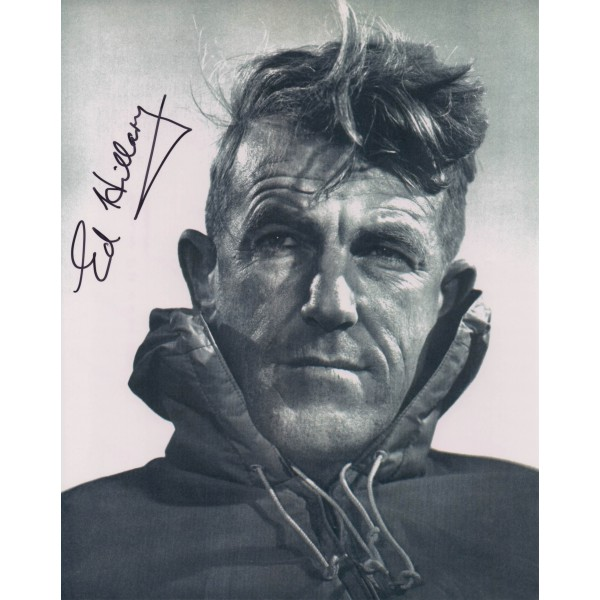 Edmund Hillary Everest genuine signed authentic autograph photo 3