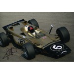 Emerson Fittipaldi F1 Lotus Turbine genuine signed authentic autograph photo 3
