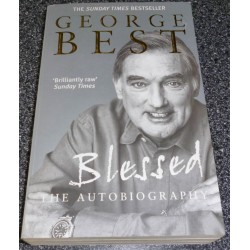 George Best football genuine authentic autograph signed book
