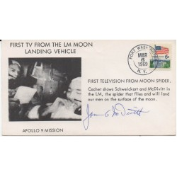 Jim McDivitt Apollo genuine signed authentic signature FDC